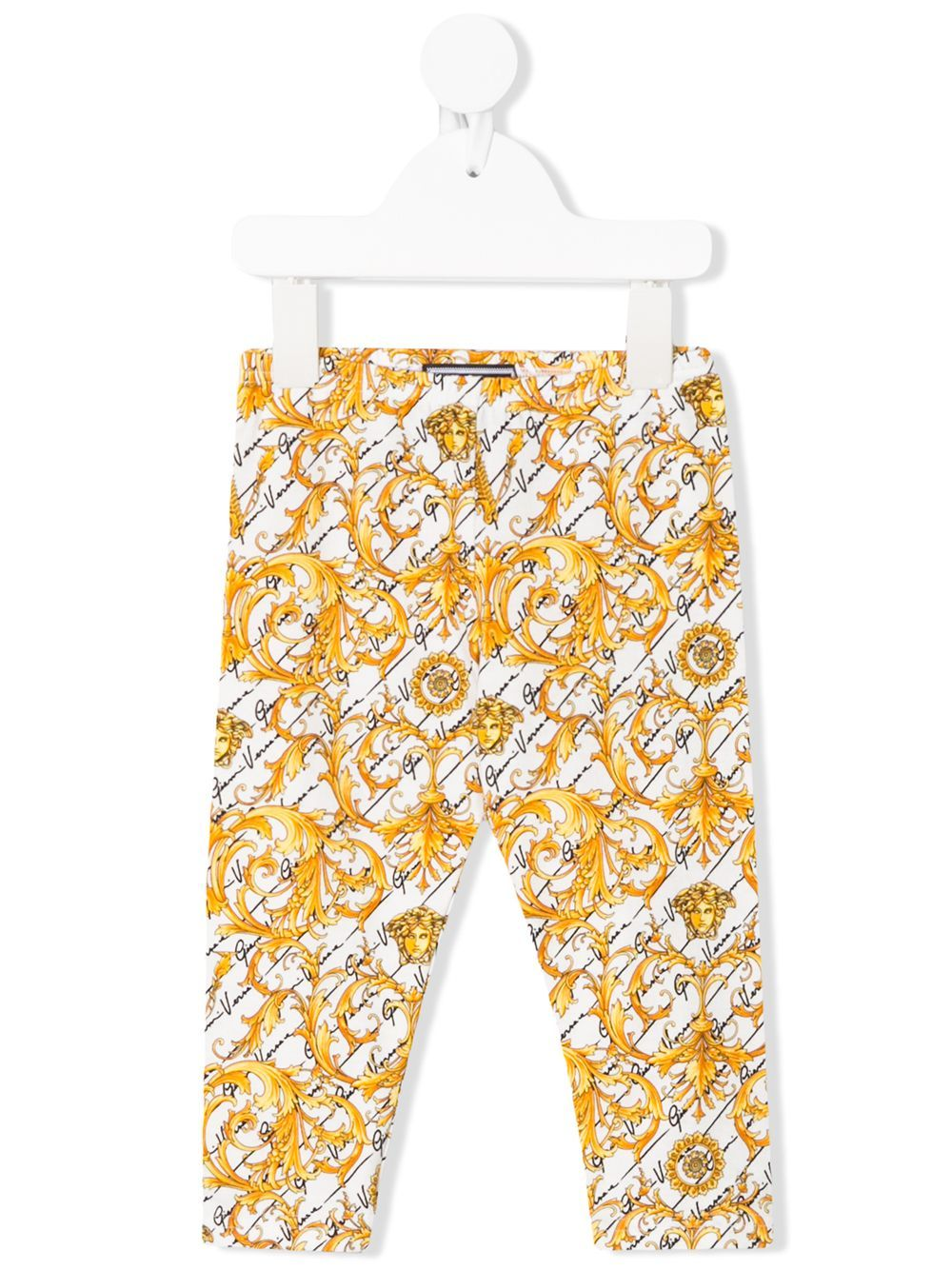 VERSACE KIDS baby baroque-print leggings - Maison De Fashion
