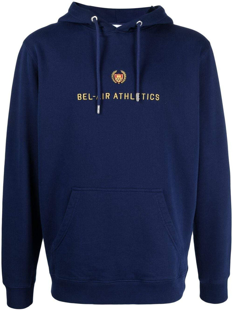 BEL-AIR ATHLETICS Academy Crest Hoodie Navy