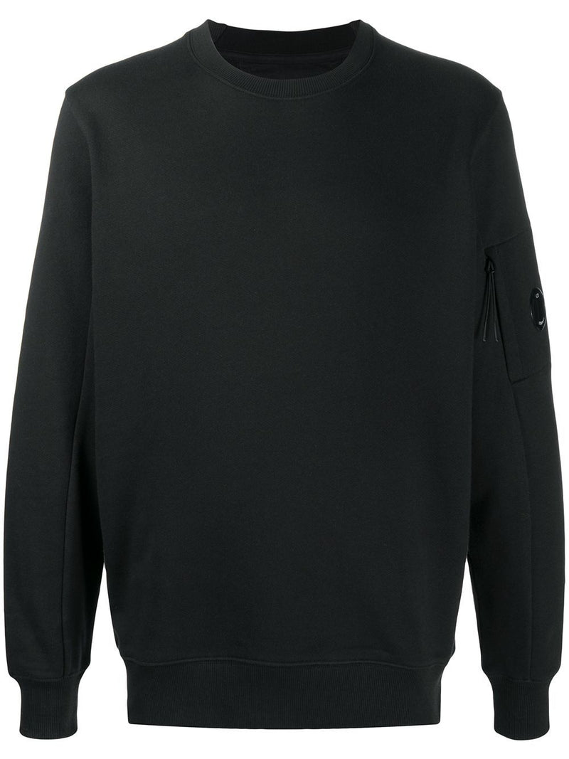 C.P COMPANY Zipped Sleeve Sweatshirt Black