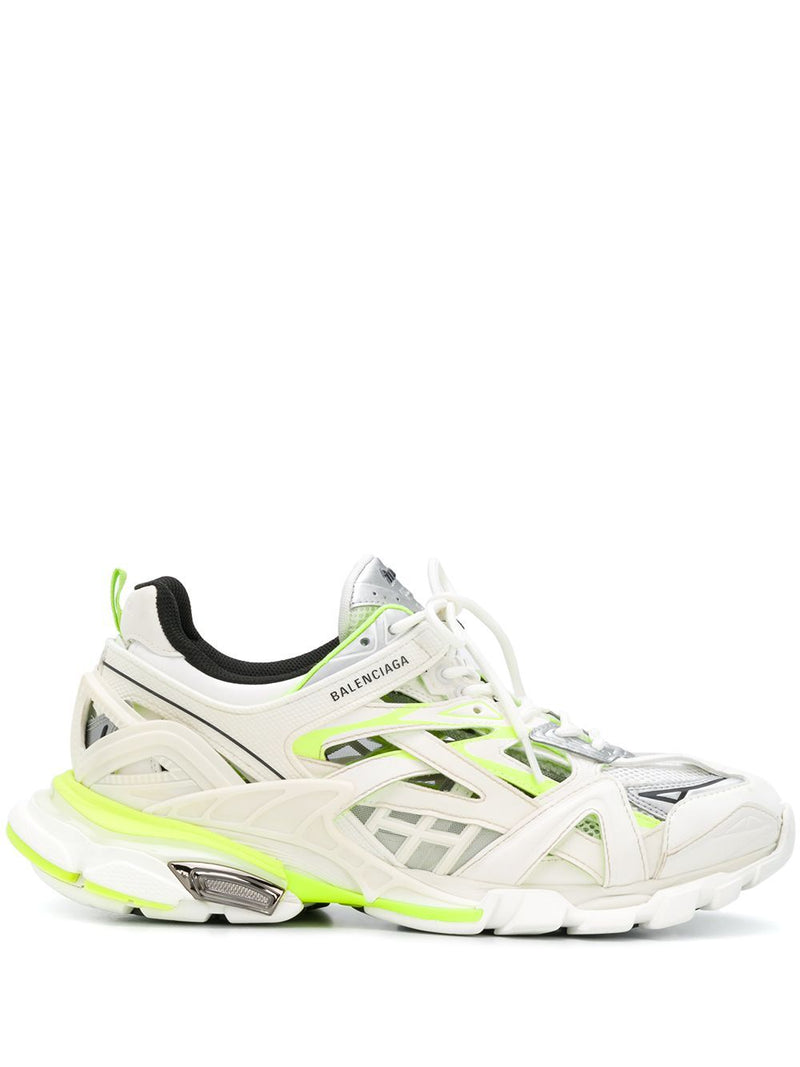 BALENCIAGA Track.2 sneakers white/fluo yellow