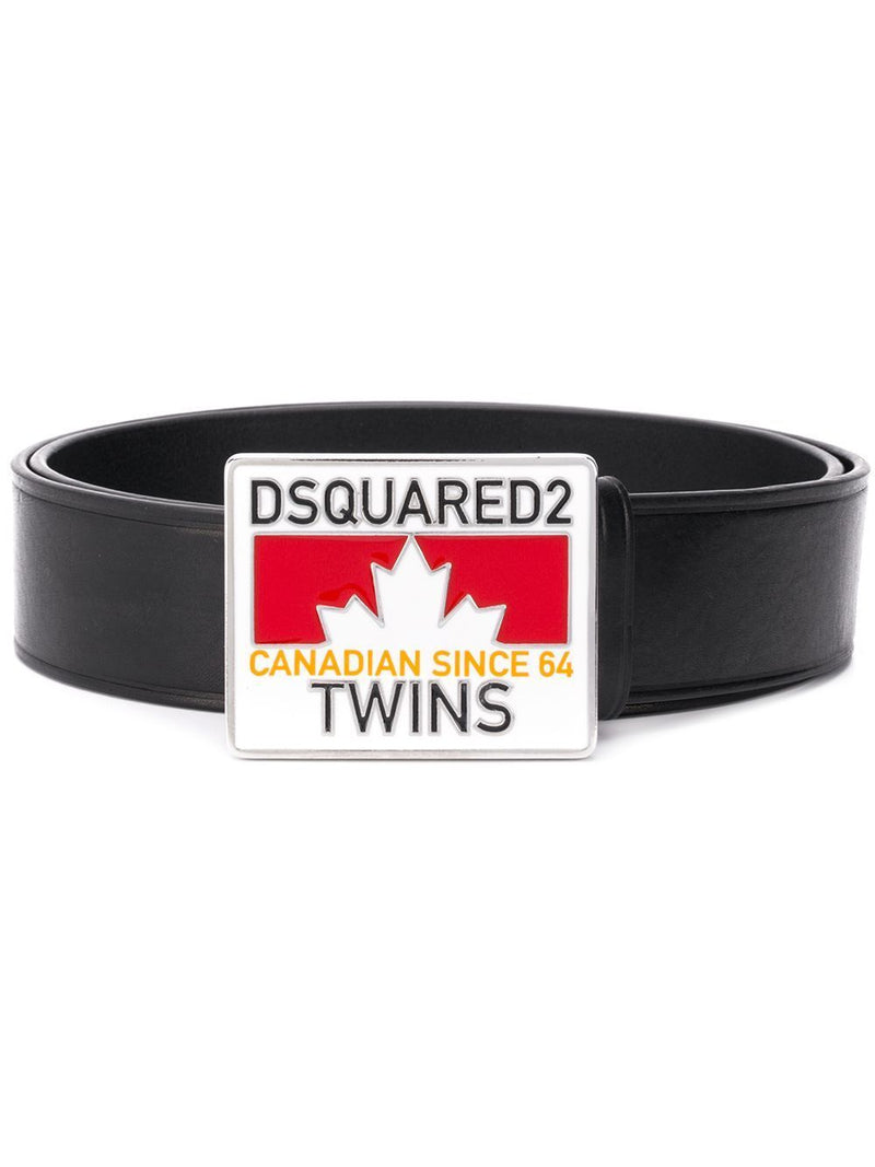 DSQAURED2 Twins Buckle Belt