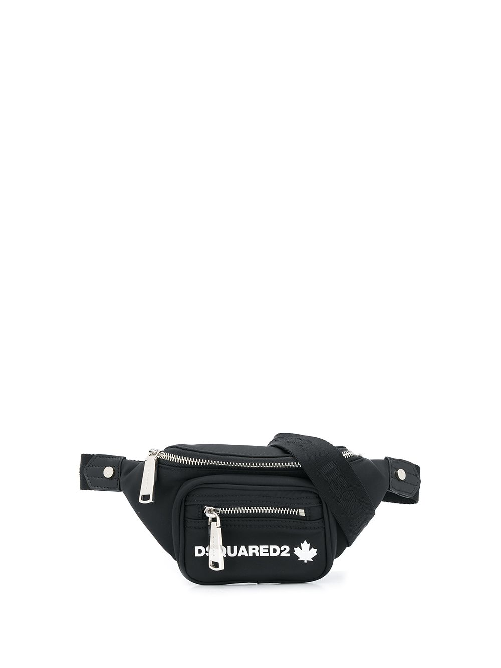 DSQUARED2 Logo Belt Bag Black/White