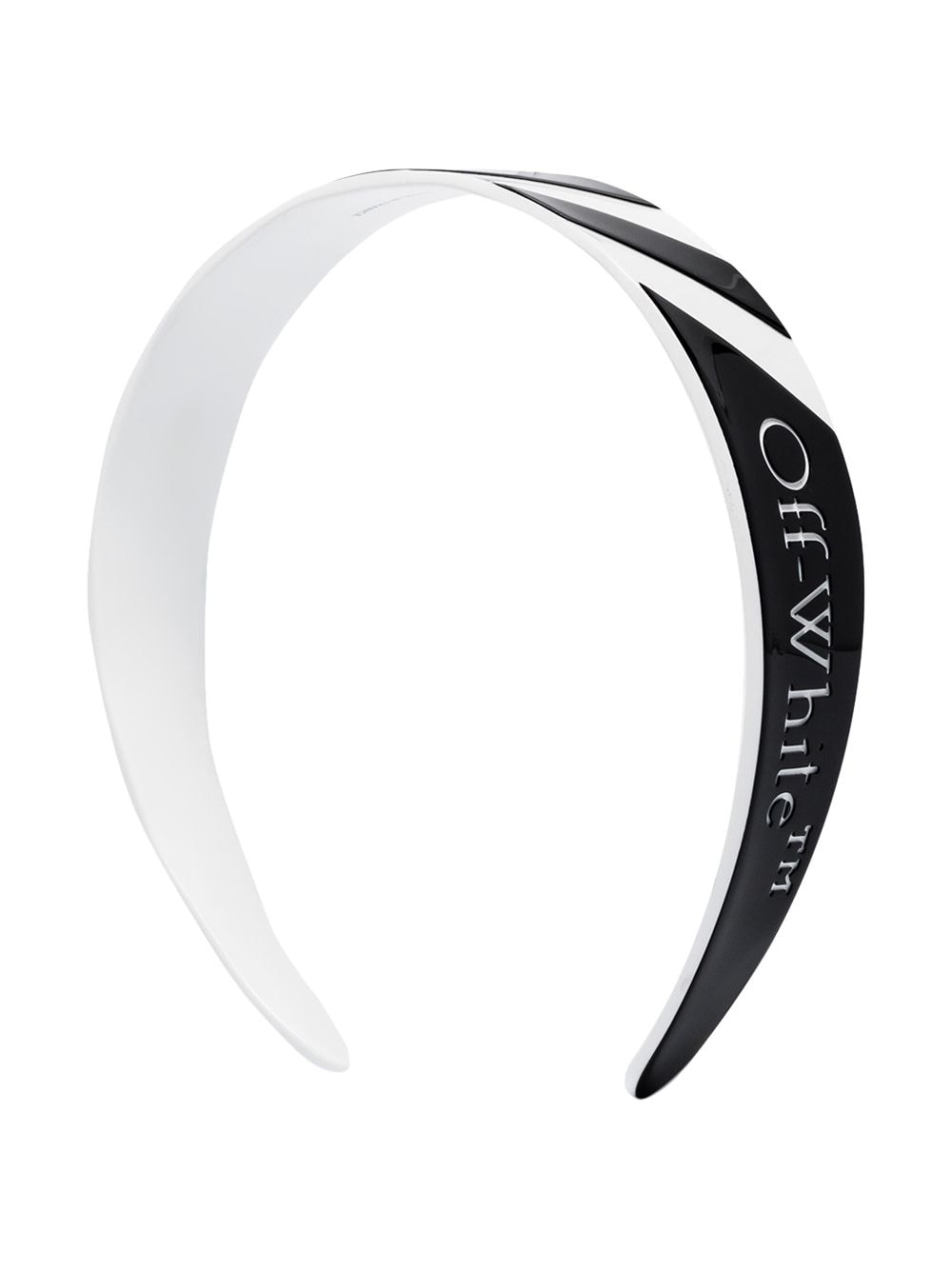 OFF-WHITE stripe headband -