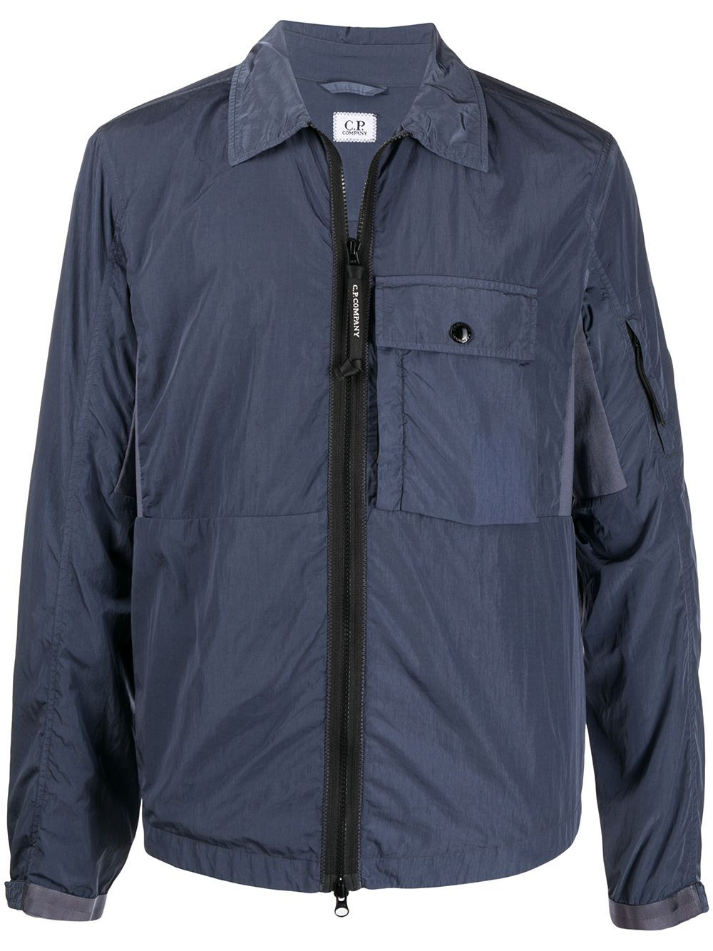 C.P. COMPANY pocket detail Lens jacket Blue