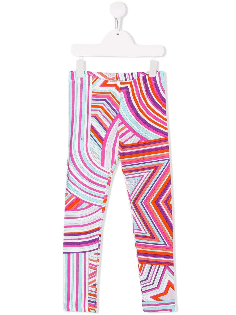 EMILIO PUCCI Kids Multicolor Leggings - Maison De Fashion