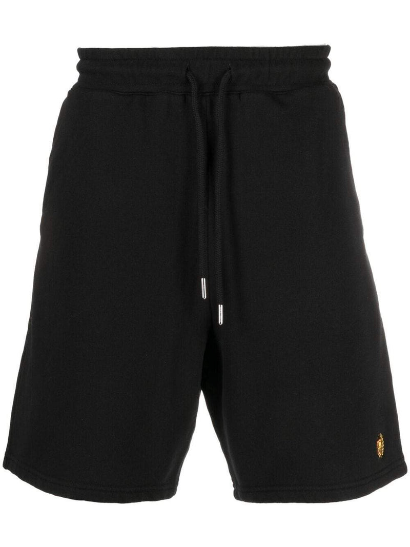 BEL-AIR ATHLETICS Academy Crest Shorts Black
