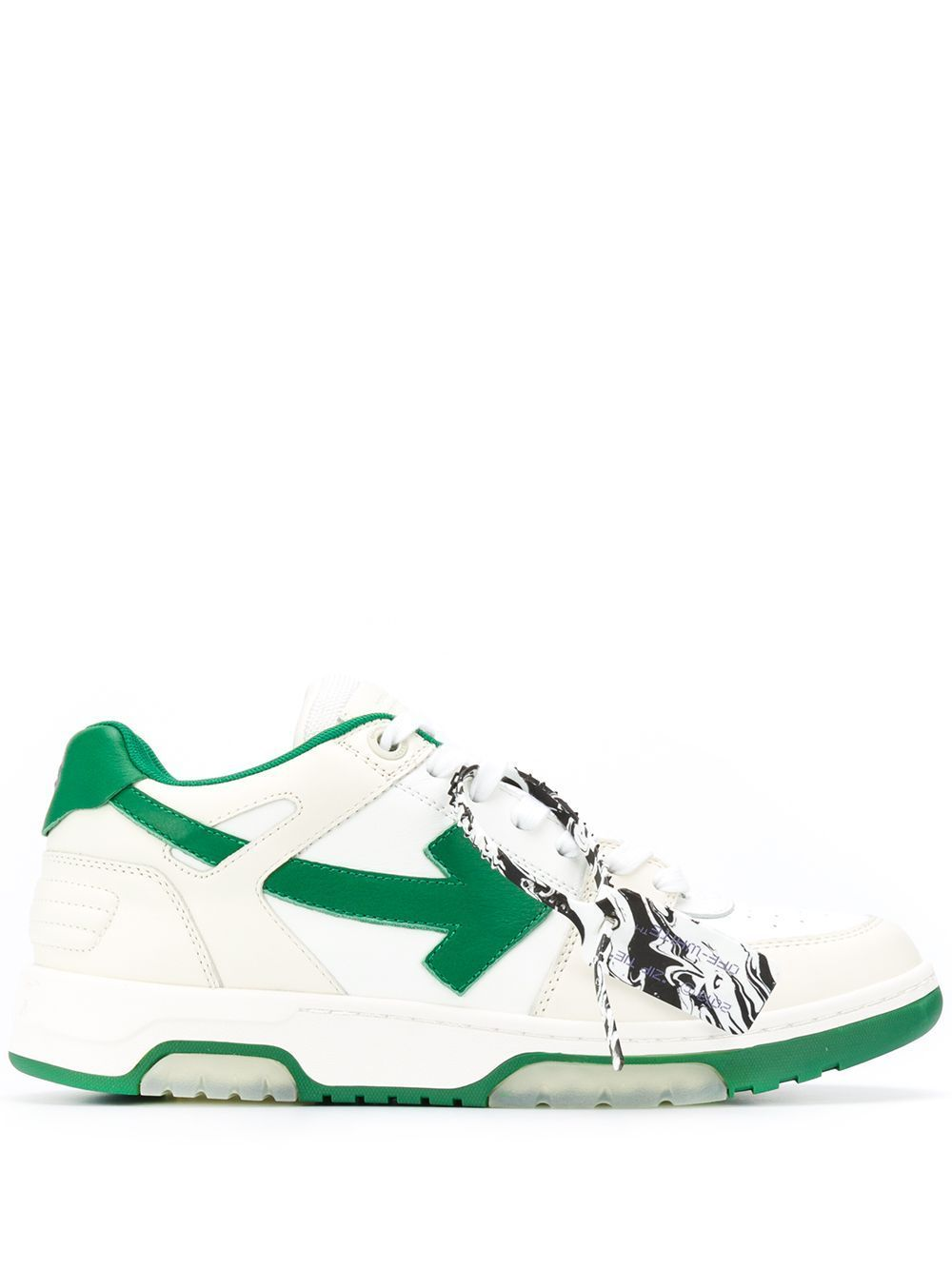 OFF-WHITE Out Of Office White/Green