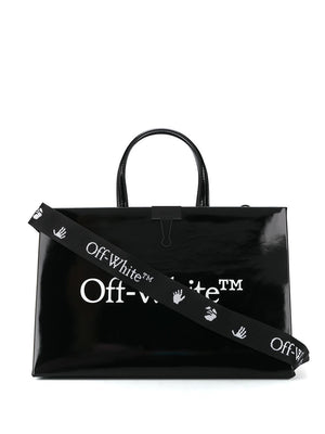 OFF-WHITE medium box bag black/white