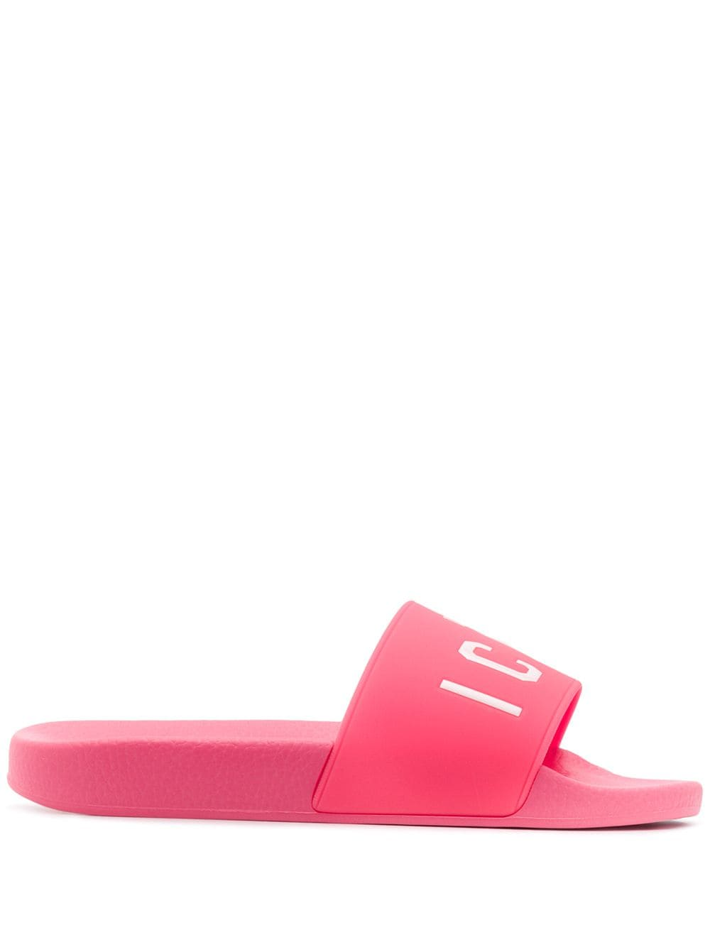 DSQUARED2 Icon Pool Sliders Pink/White