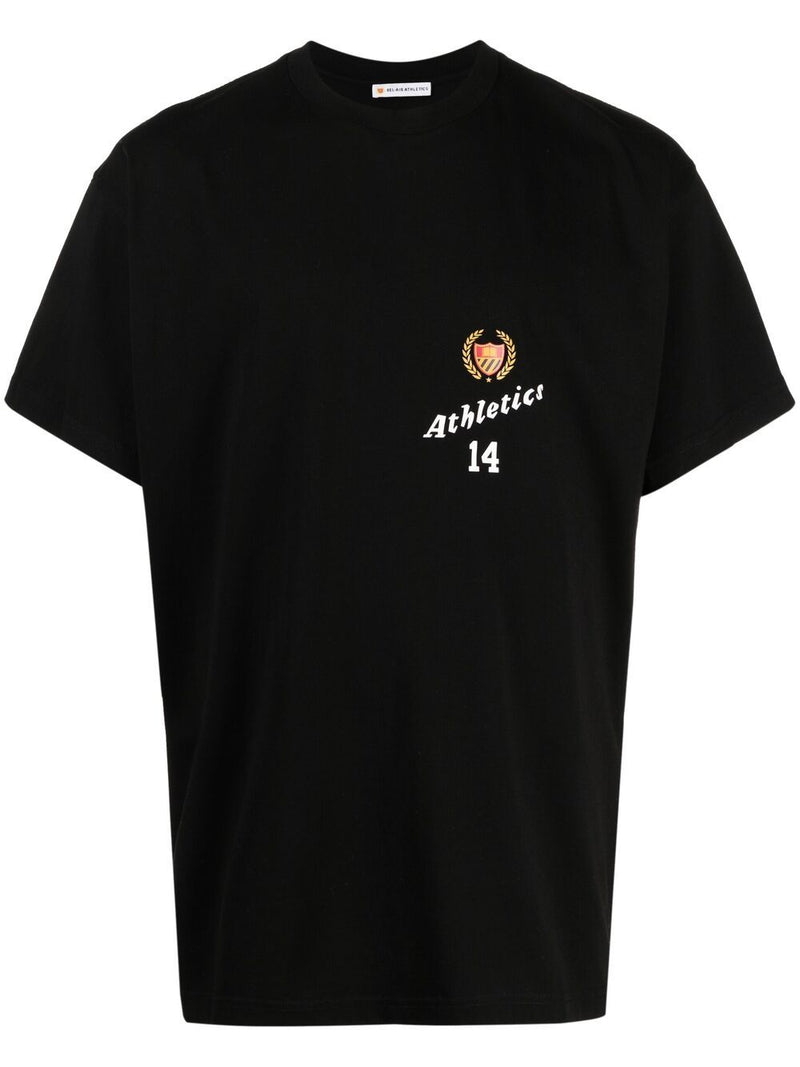 BEL AIR ATHLETICS Graphic Logo T-Shirt Black