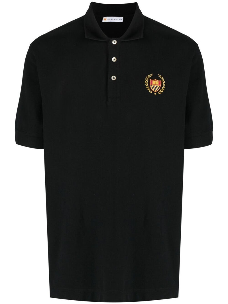 BEL-AIR ATHLETICS Academy Crest Polo Shirt