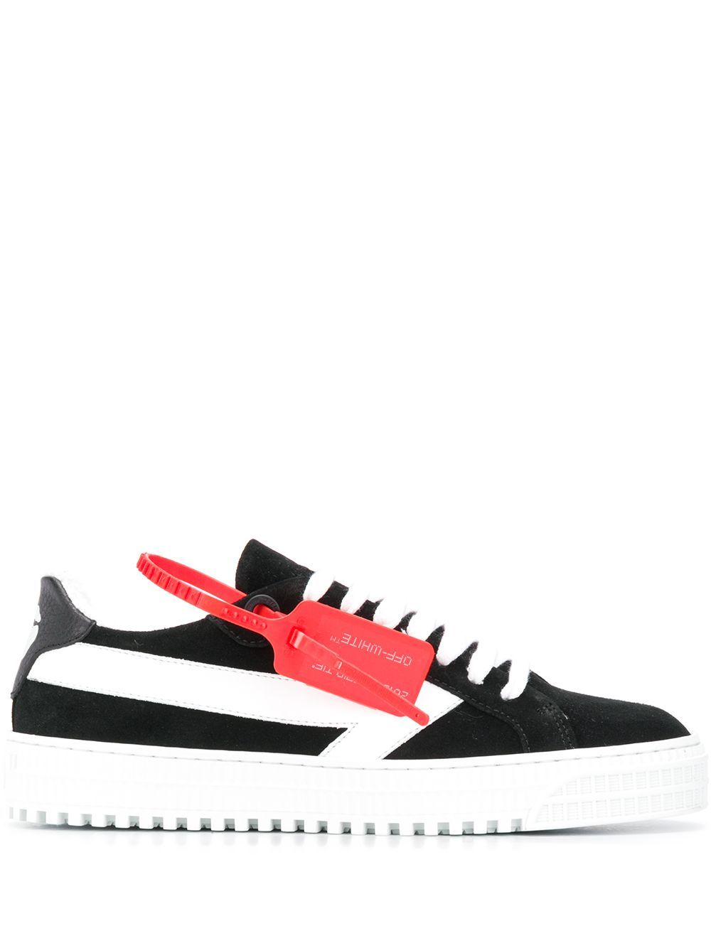 OFF-WHITE women arrow sneakers black/white - Maison De Fashion