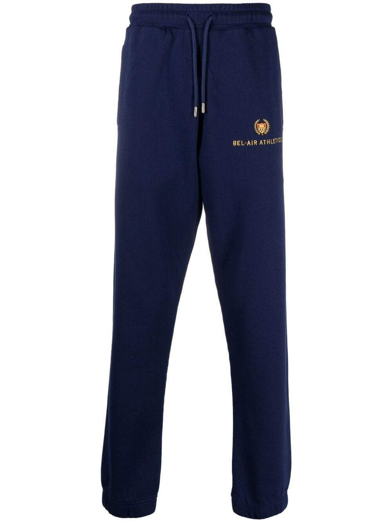 BEL-AIR ATHLETICS Academy Crest Sweatpants Navy