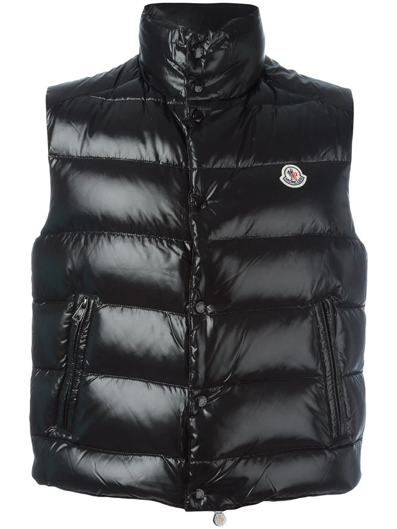 MONCLER Tib Padded Gilet Black - Maison De Fashion