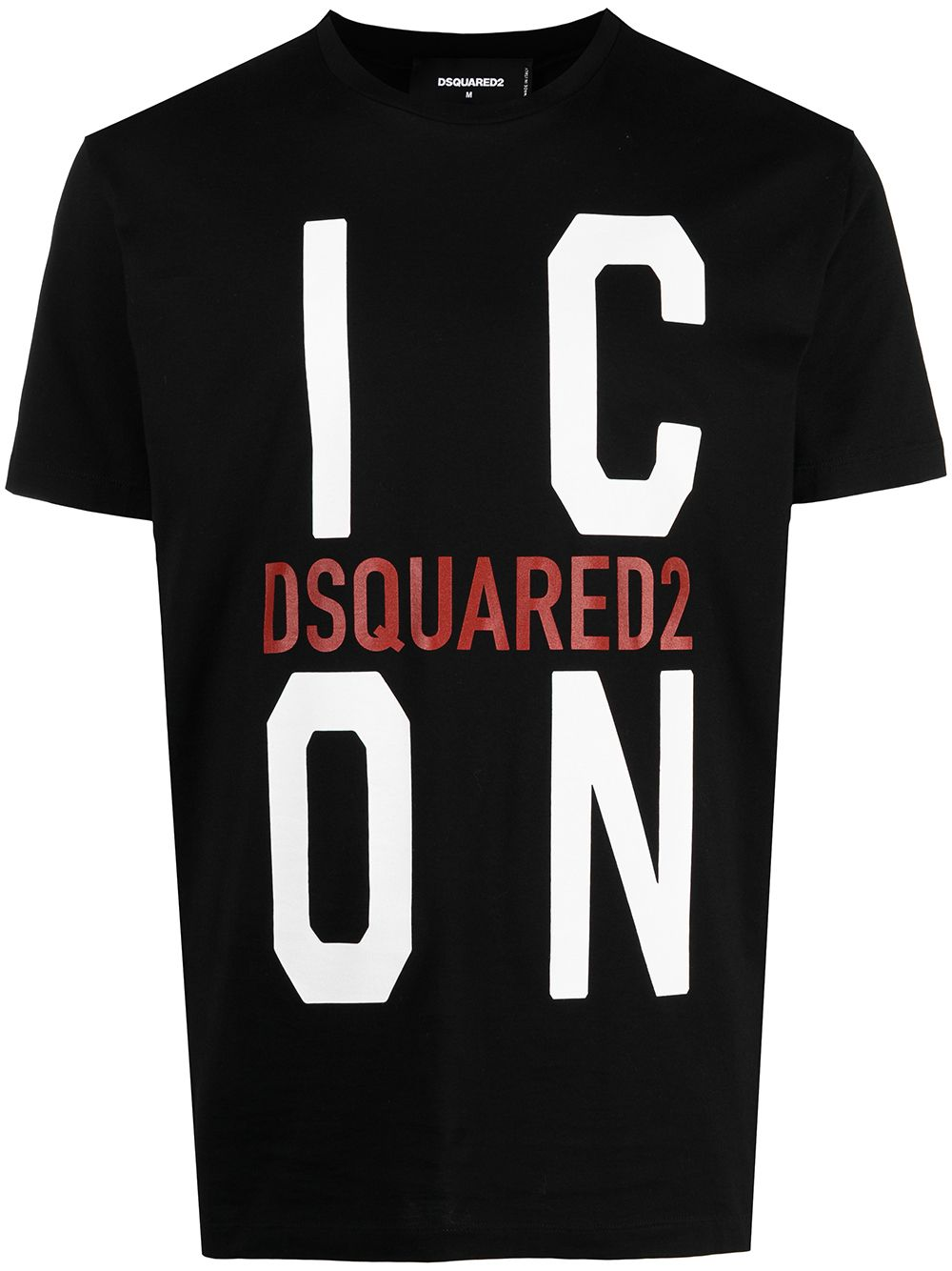 DSQUARED2 Icon Logo T-Shirt Black