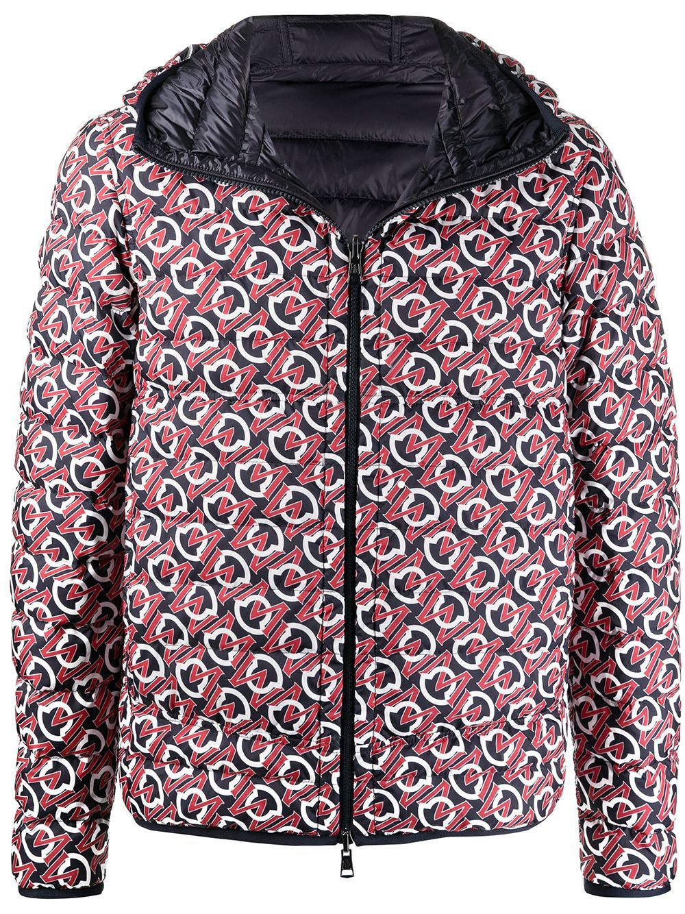 MONCLER Zois Reversible Jacket Navy