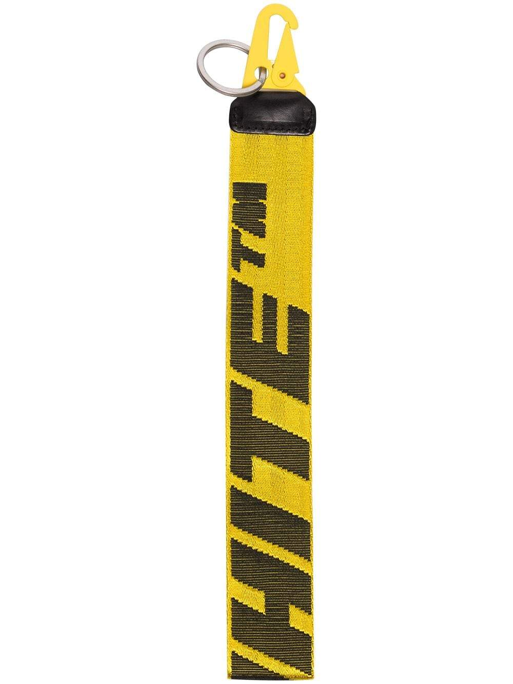 Off-White 2.0 industrial key holder yellow/black