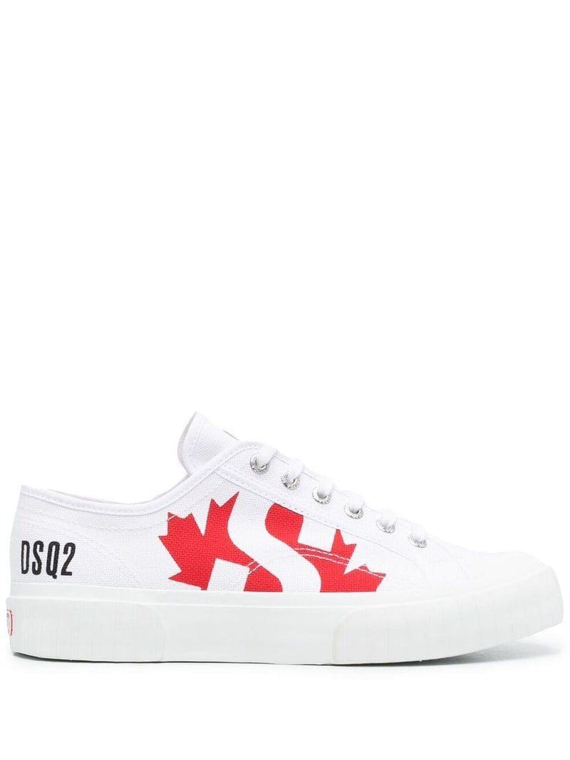 DSQUARED2 x Superga Logo Sneakers White
