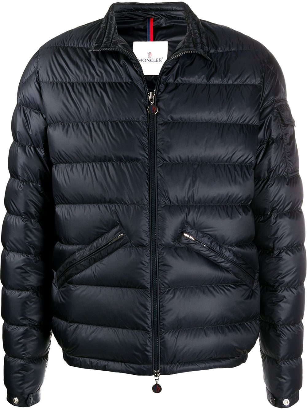 MONCLER Agay Giubbotto Padded Jacket Navy