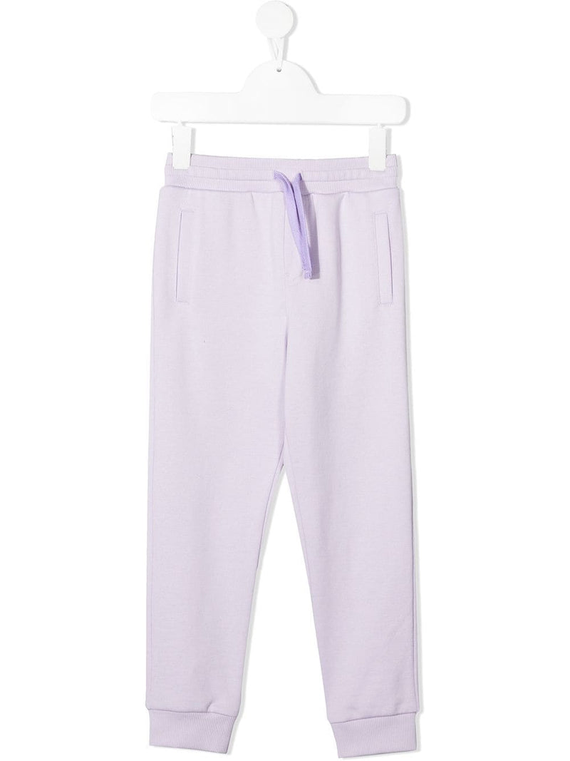 DOLCE & GABBANA KIDS  Classic track pants Purple