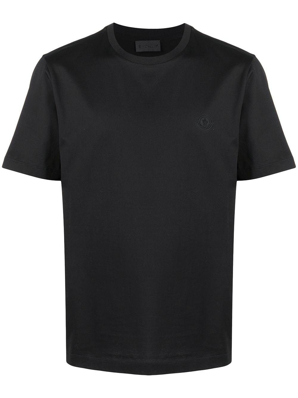 MONCLER Rear Logo T-Shirt Black