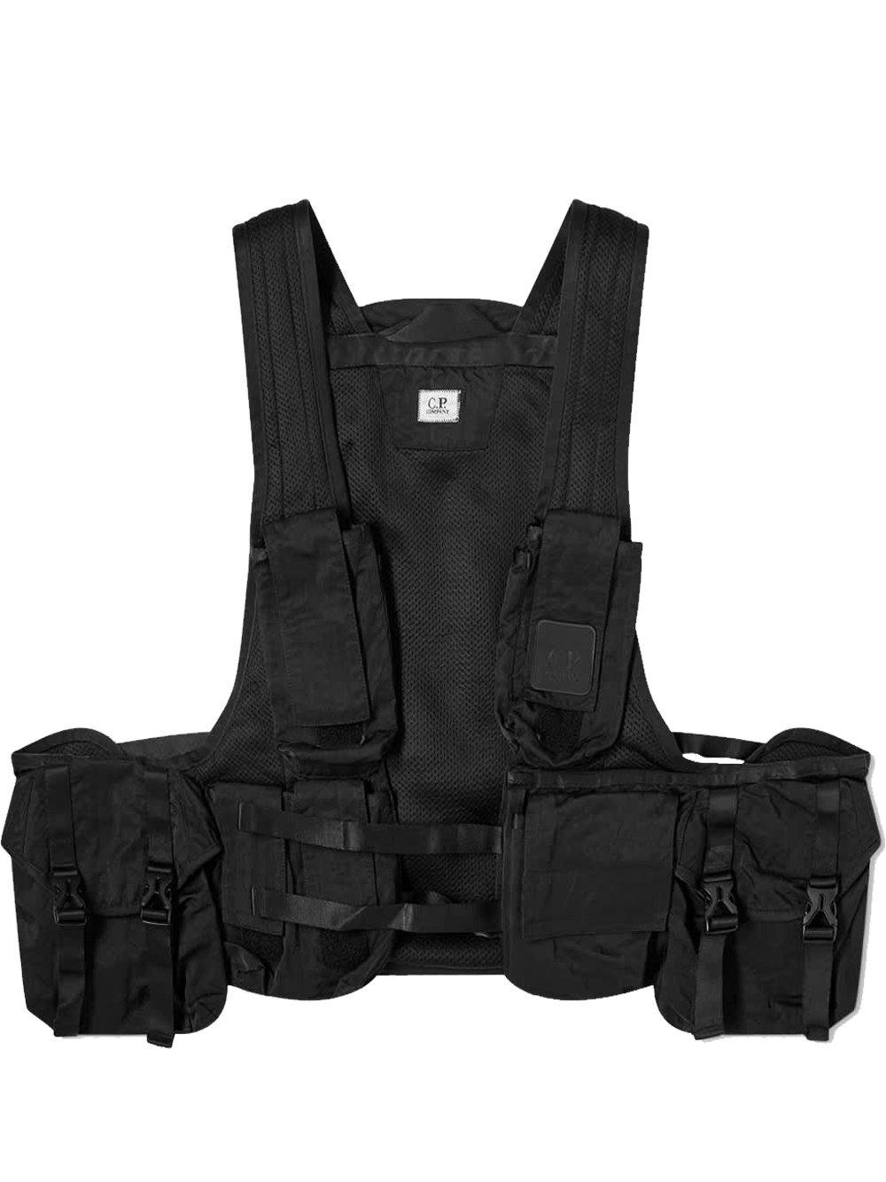 C.P. COMPANY Tactical Vest Black