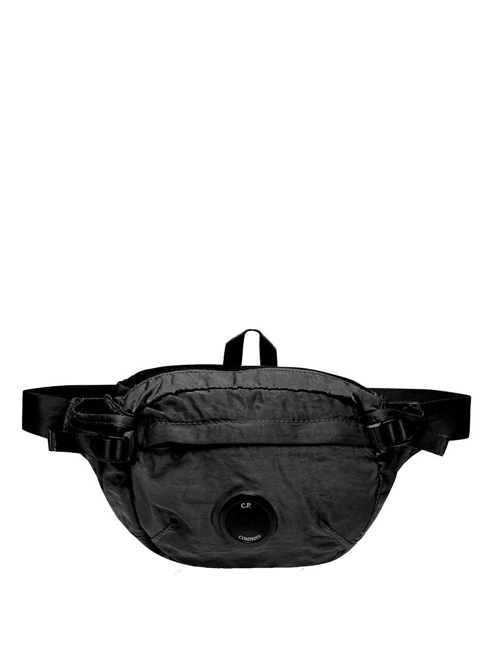 C.P. COMPANY lens belt bag black