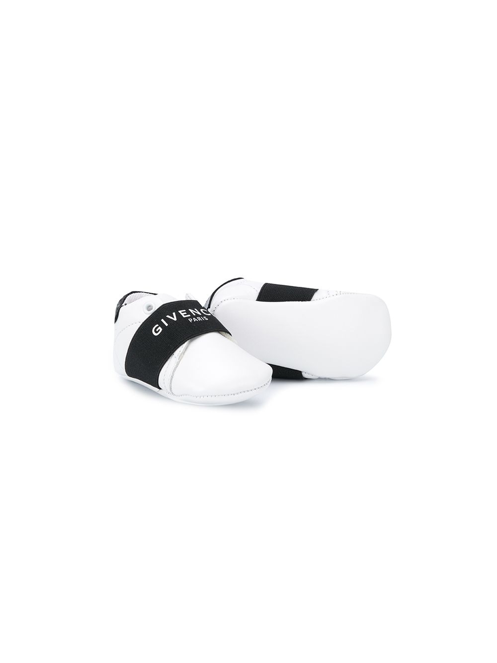 GIVENCHY KIDS Logo Colour-Block Sneakers White