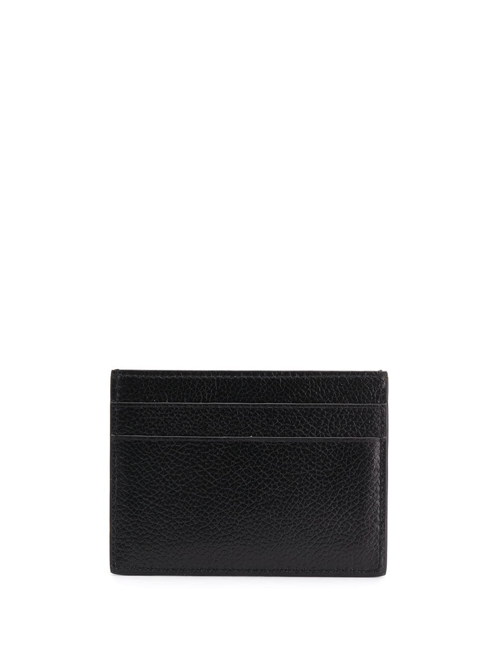 BALENCIAGA Logo Card Holder Black