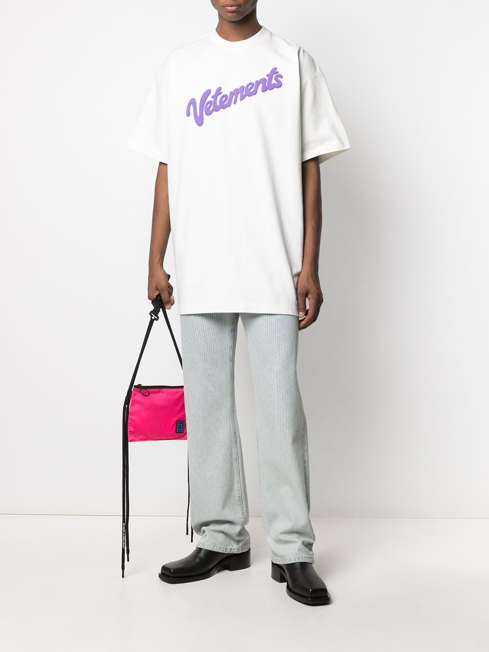 VETEMENTS Sweet Logo T-Shirt White