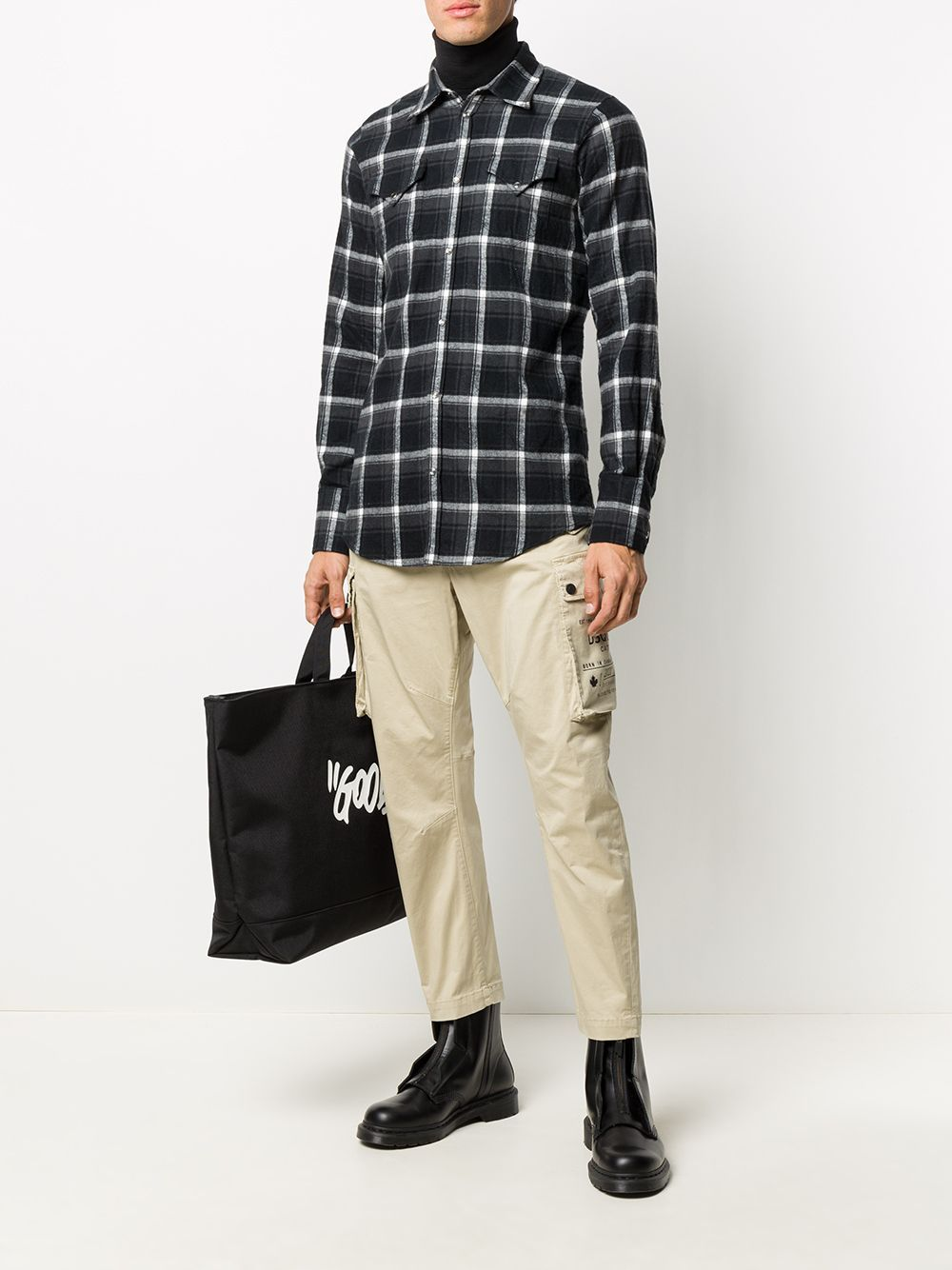 DSQUARED2 Slim Fit Checked Shirt