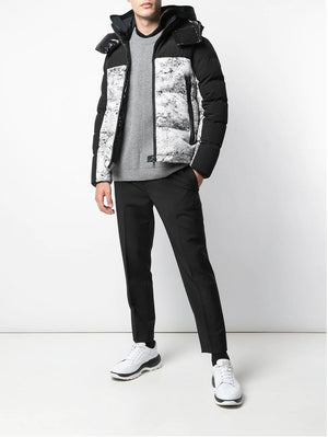 MONCLER panelled puffer jacket - Maison De Fashion