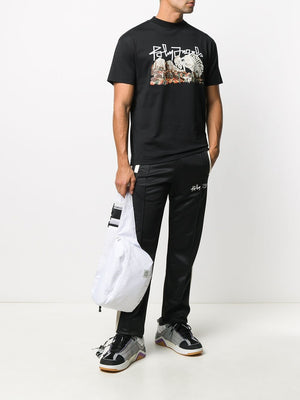 PALM ANGELS Desert Skull Tee Black