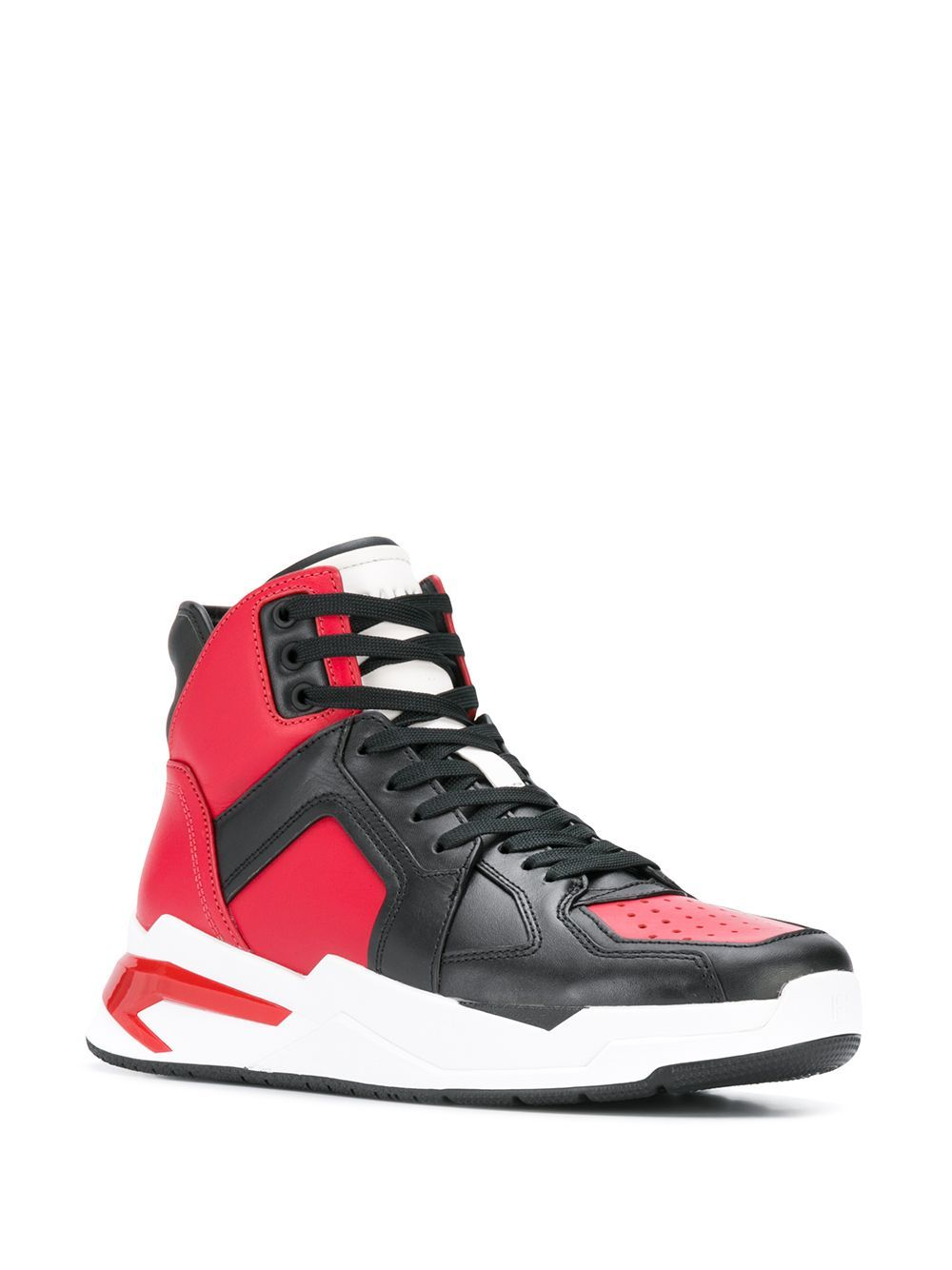 Balmain B-BALL sneakers black/red