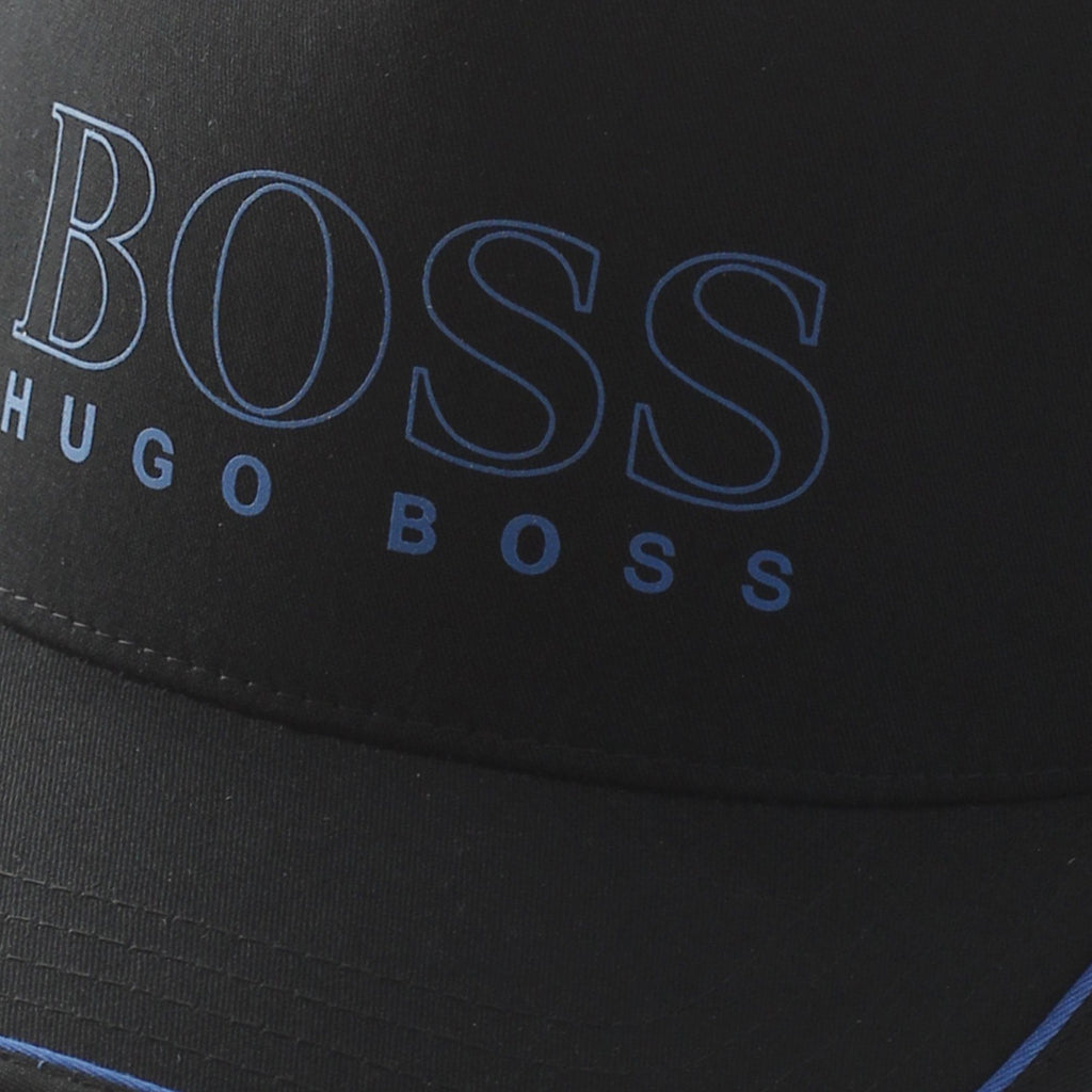 BOSS Novel Cap Black/Blue