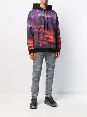 Marcelo Burlon Fantasy all-over hoodie - Maison De Fashion