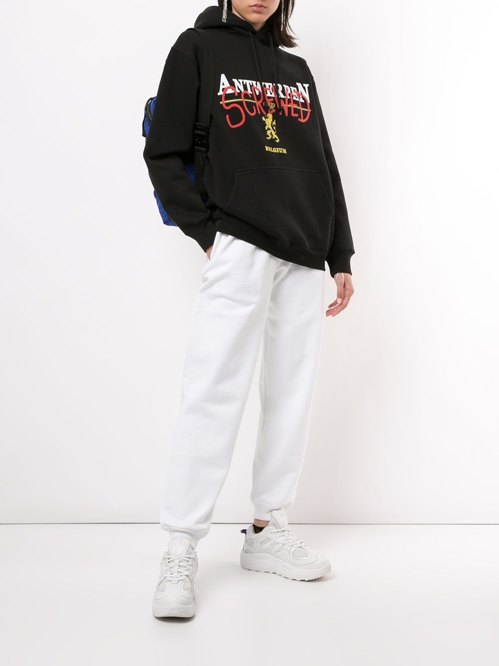 VETEMENTS Antwerp Screwed Hoodie Black
