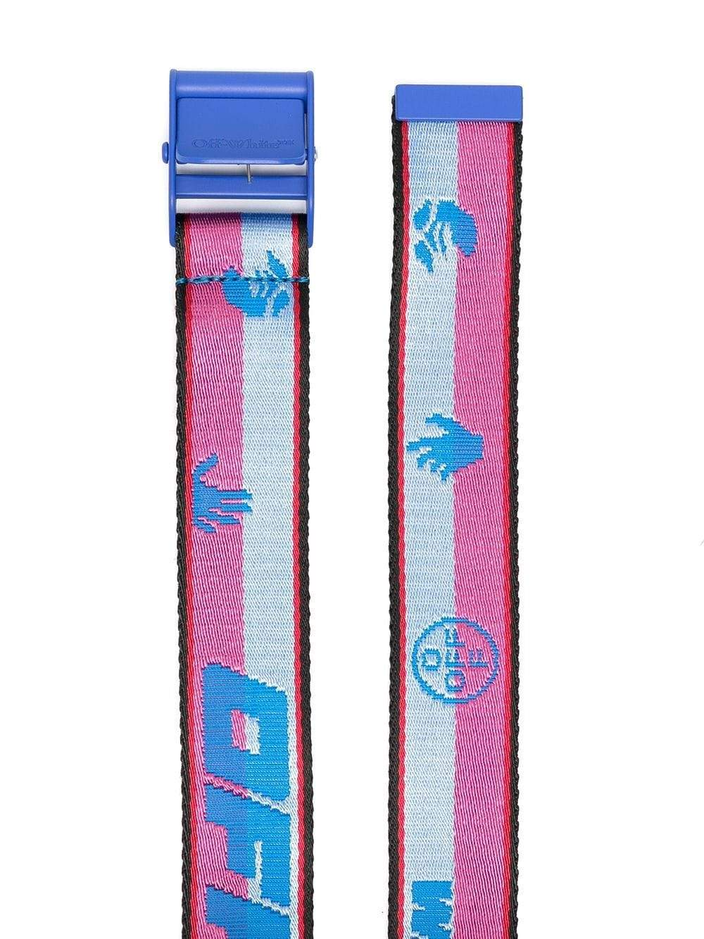 Off-White Women's Industrial Belt Blue - Maison De Fashion