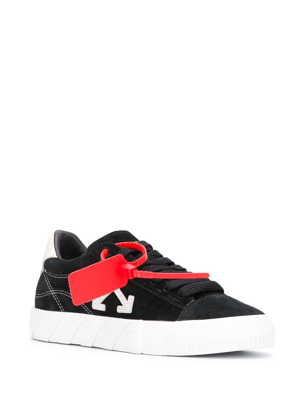 OFF-WHITE New Arrow Low Vulcanized Sneakers Black