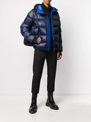 Moncler Grenoble hintertux puffer jacket blue - Maison De Fashion