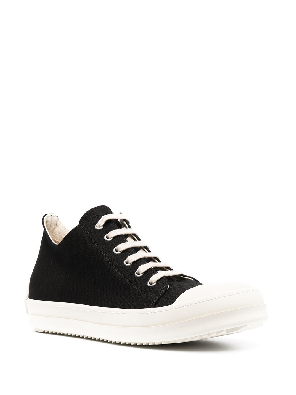 Rick Owens DRKSHDW Low Top Sneakers Black