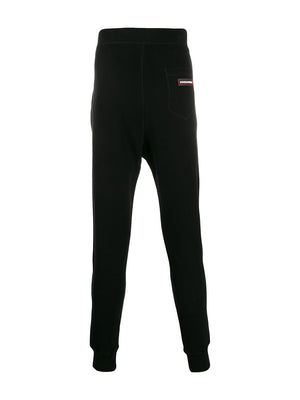 DSQUARED2 Black Cotton Sweatpants - Maison De Fashion