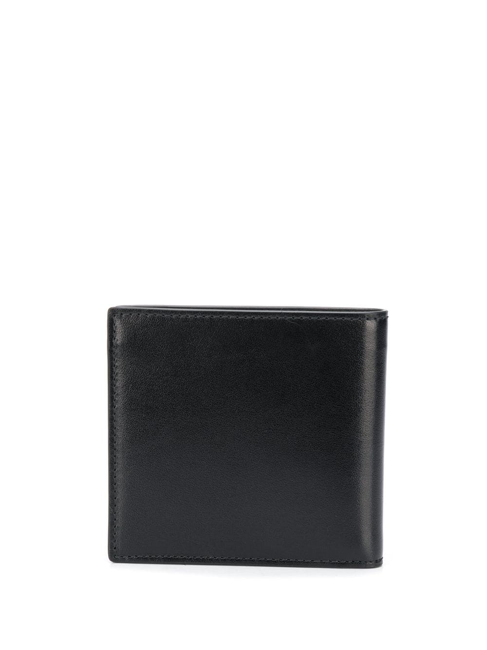 ALEXANDER MCQUEEN Embossed Logo Wallet Black - Maison De Fashion