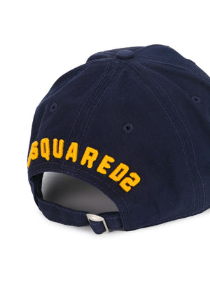 Dsquared2 Icon Logo Cap navy - Maison De Fashion