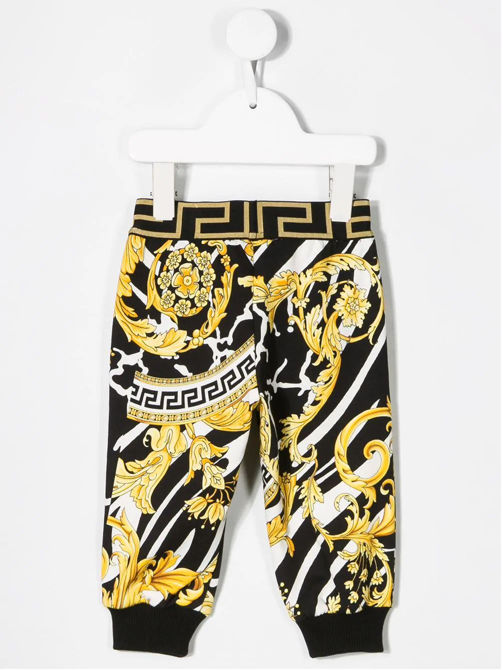 VERSACE Kids baroque print trousers - Maison De Fashion