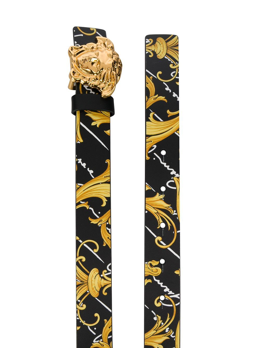 VERSACE KIDS medusa buckle belt