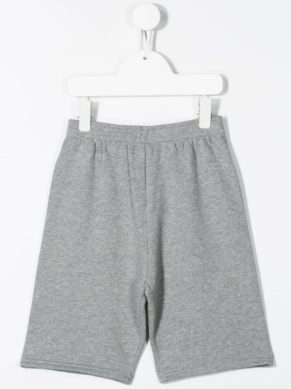 BALENCIAGA KIDS logo print shorts grey - Maison De Fashion