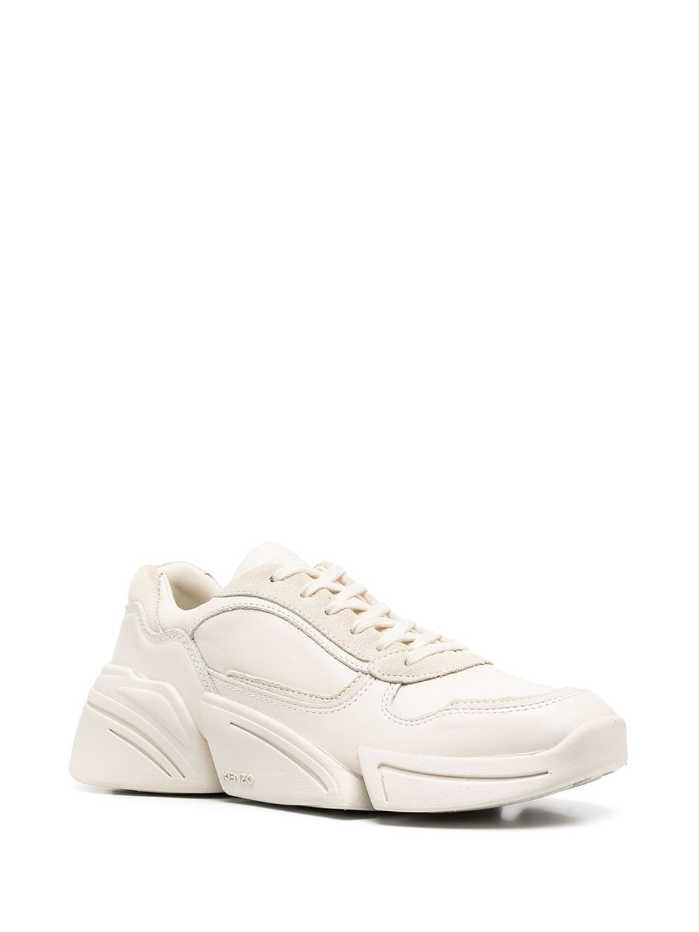 KENZO WOMEN Kross Low Top Sneakers Beige