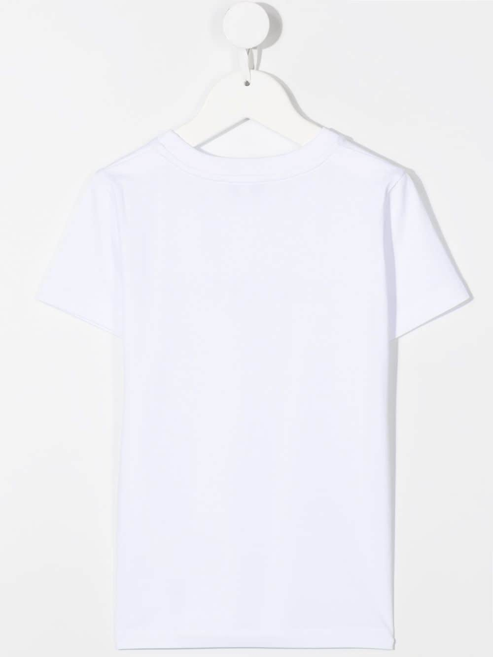 GIVENCHY KIDS Cracked Logo T-Shirt White - Maison De Fashion