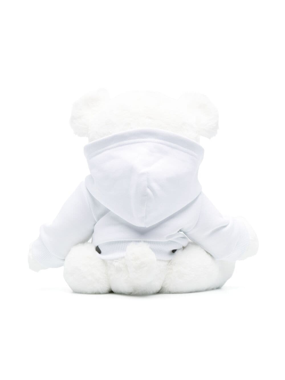 GIVENCHY KIDS Logo embroidered bear soft toy White